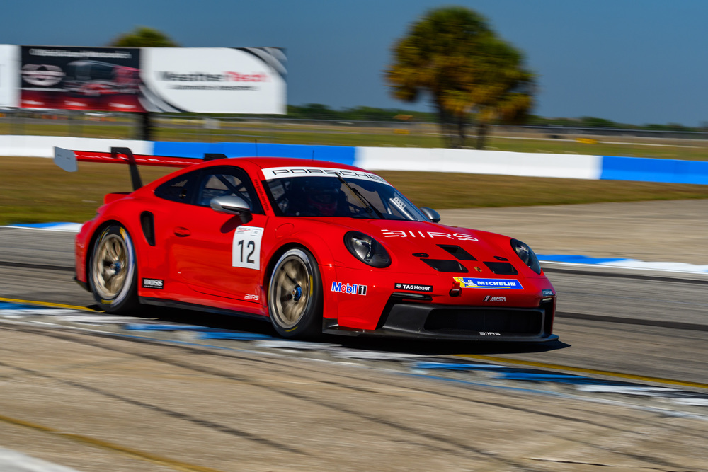 Porsche Carrera Cup North America 2021: Sebring race 1