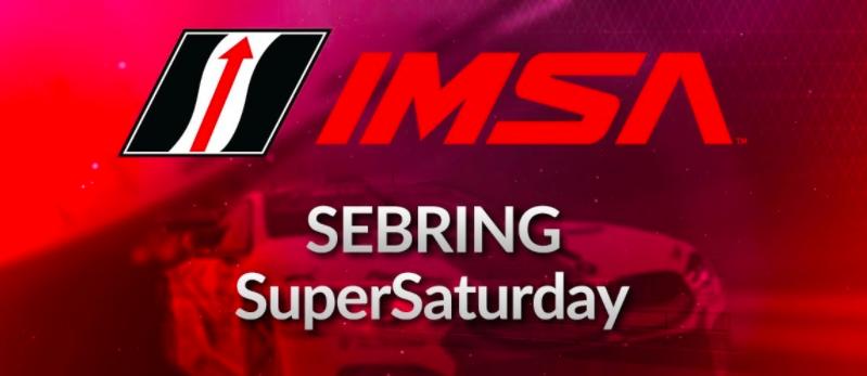 IMSA Super Saturday iRacing Sebring