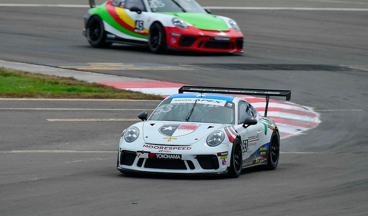 Porsche GT3 Cup Challenge USA 2020: St Petersburg race 2