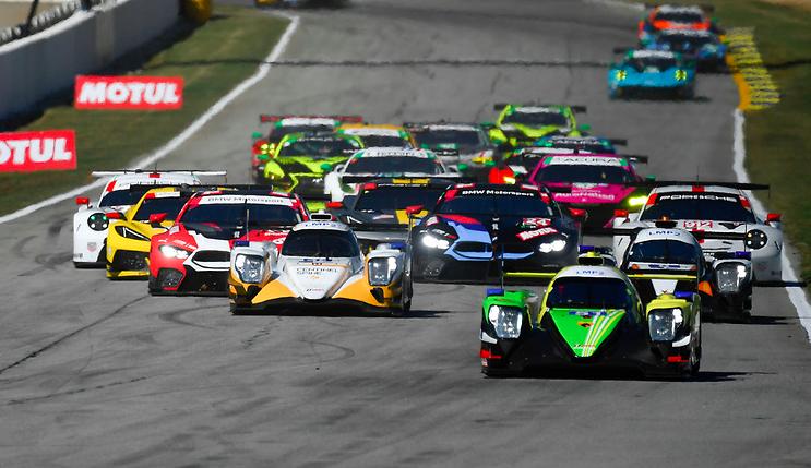 WeatherTech Sportscar Championship 2020: Petit Le Mans hour 1