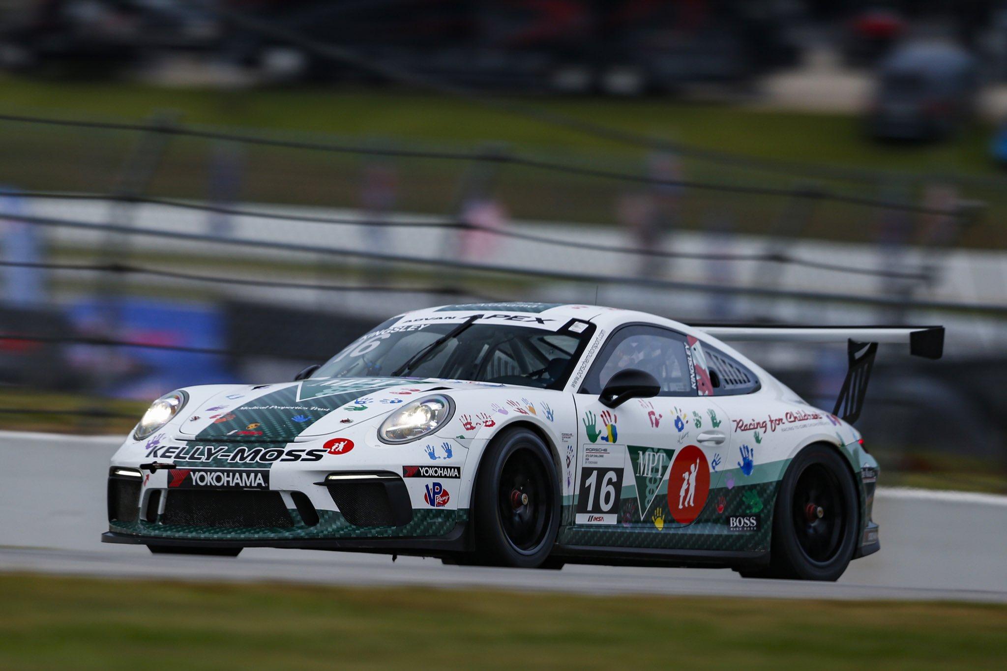 Porsche GT3 Cup Challenge 2020: Road Atlanta race 2