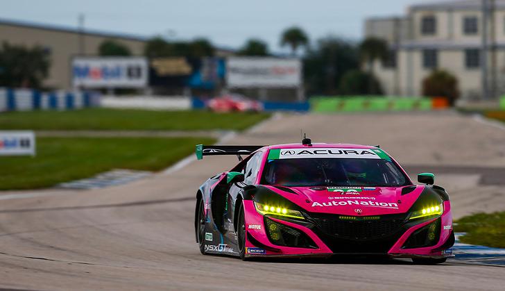 WeatherTech Sportscar Championship 2020: Sebring 12h Practice 2