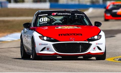 Mazda MX-5 Cup 2021: Sebring race 2