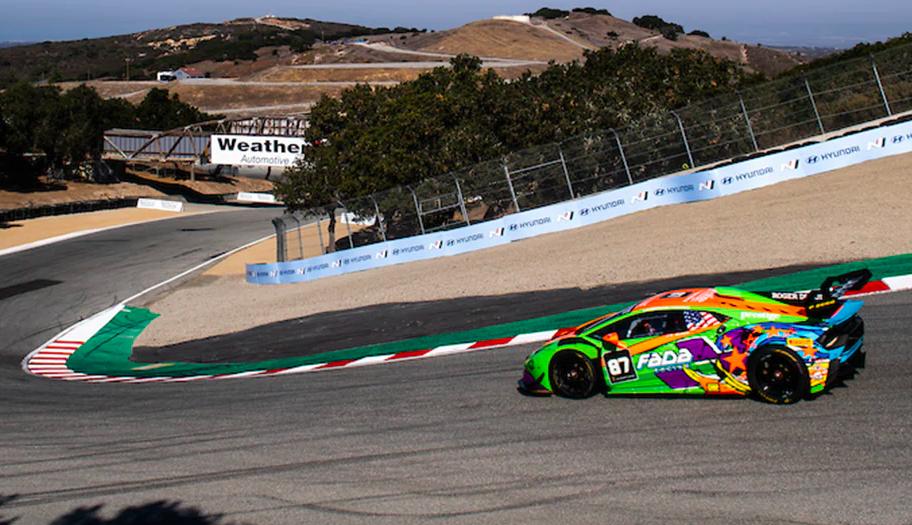 Lamborghini Super Trofeo 2021: Laguna Seca race 2